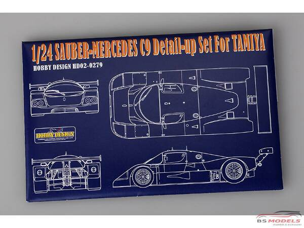 HD020279 Sauber-Mercedes C9  PE+metal parts+resin  (for Tamiya) Multimedia Accessoires