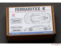 HD020343 Ferrari FXX-K   PE+metal parts+resin  (for Tamiya) Multimedia Accessoires