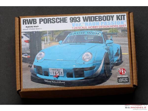 "HD030457 RWB Porsche 993 widebody transkit ""China Shanghai Sopranos"" Multimedia Transkit"