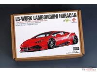 HD030485 LB-Work Lamborghini Huracan  PE+resin+decal  (for Aoshima) Multimedia Transkit