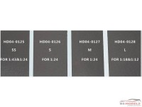 HD040125 Carbon Decal (A)  SS  (for 1/24 or 1/43 scale) Multimedia Decal