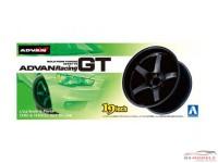 AOS00903 Advan Racing GT - 19 inch Plastic Accessoires
