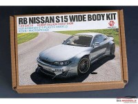 HD03498 RB Nissan S15 Wide body kit for AOS S15 Multimedia Transkit