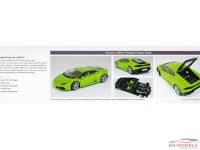 AOS013823 Lamborghini Hurracan  LP610-4  (overseas edition) Plastic Kit