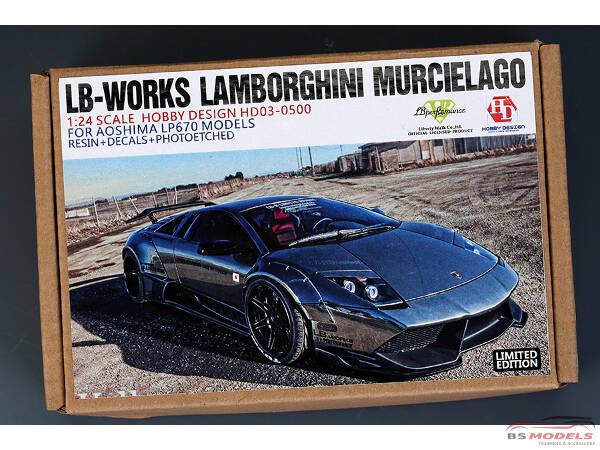 HD030500 LB-Works Lamborghini Murcielago FOR Aos LP670 models Multimedia Transkit
