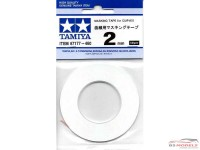 TAM87177 Tamiya masking tape for curves 2 mm Multimedia Material