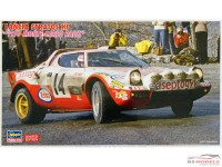 "HAS20268 Lancia Stratos HF  ""1977 Monte-Carlo Rally "" Limited Edition Plastic Kit"