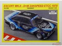 REJI86 Ford Escort MK.II 1979 Zakspeed D+W #9  K.Niedzwiedz Multimedia Transkit