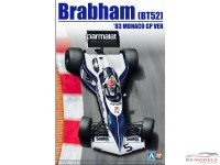 BEE20003 Brabham BT52  1983 Monaco GP Plastic Kit