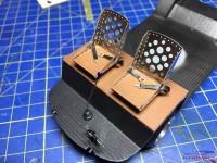 HME028 Bomber seat set 2 (2s eats) Etched metal Accessoires