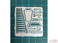HME031 Tool set Etched metal Accessoires