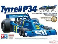 TAM12036 Tyrrell P34 Six Wheeler #3 #4 Scheckter / Depailler Plastic Kit