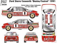"CTR2424 Ford Sierra Cosworth  ""Bastos""  Ypres / Cevennes 1991 Multimedia Kit"