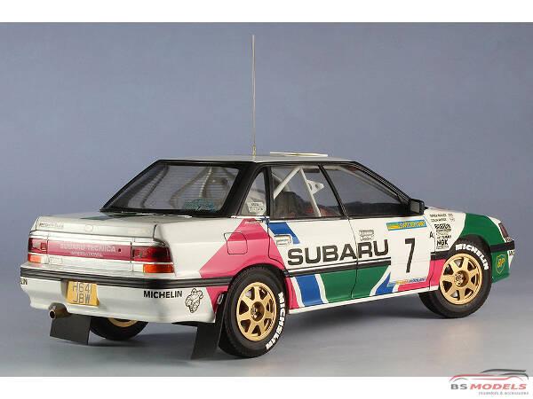 1 24 Has 20290 Subaru Legacy Rs 1992 Swedish Rally Limited Edition