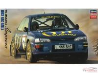 HAS20297 Subaru Impreza WRX 1993  RAC Rally Limited Edition Plastic Kit