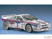 HAS25030 Lancia 037 Rally Tour de Corse 1984 Plastic Kit