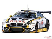 PLZPN24001 BMW M6 GT3  24H Spa 2016 winner Plastic Kit