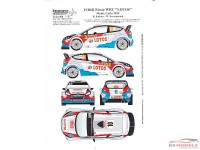 TK24400 Ford Fiesta WRC Kubica  Monte Carlo 2014  decal Waterslide decal Decal
