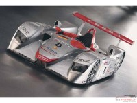 LMM124035 Audi R8  #8  Winner Le Mans 2000 Multimedia Kit