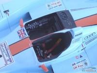LMM124047 Audi R8  Gulf #4  Le Mans 2001 Multimedia Kit