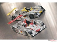 LMM124051 Audi R8 Infineon #1  Winner Le Mans 2001 Multimedia Kit