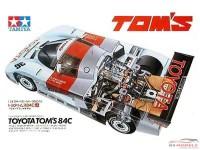 TAM24053 Toyota 84 C   Tom's #36 Plastic Kit