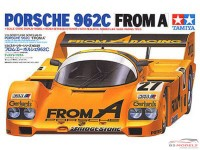 TAM24089 Porsche 962C  From A Plastic Kit