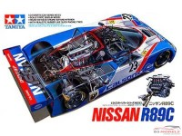 TAM24093 Nissan R89 C + suprise decal Plastic Kit