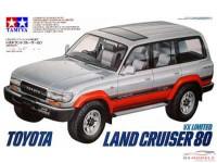TAM24107 Toyota Landcruiser 80  VX Limited Plastic Kit
