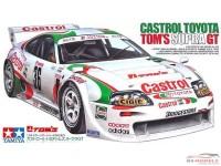 TAM24163 Toyota Supra GT  Castrol #36 Plastic Kit