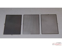 24GRA2 Mesh Diamond shaped medium (38x54 mm) Etched metal Accessoires