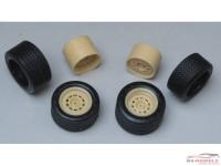 "24GottiR5T Gotti 15""  wheels + tyres  (R5 Turbo) Resin Accessoires"