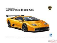 AOS010693 Lamborghini Diablo GTR Plastic Kit