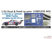 STU27CP24021 Porsche 911 RSR Turbo Watkins Glenn 6H 1974 Full set Multimedia Transkit