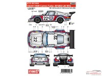 STU27DC1204 Porsche 911 RSR Turbo Martini LM 1974 #21#22 Waterslide decal Decal