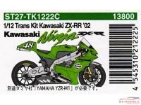 STU27TK1222C Kawasaki Ninja ZX-RR  Moto GP '02  Transkit Multimedia Transkit