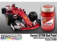 ZP1007-1 Ferrari SF70H Red paint 60 ml Paint Material