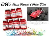 ZP1007-2 Ferrari Rosso Formula 1     1960s   paint 60 ml Paint Material