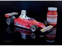 ZP1007-3 Ferrari Formula 1  1970s - 1980s  paint 60 ml Paint Material
