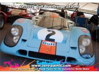 ZP1012 Gulf Blue and Orange paint set 2x30 ml Paint Material