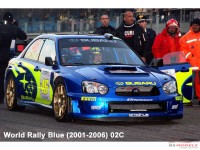 ZP1041-4 Subaru World Rally Blue (2001-2006) O2C  paint 60 ml Paint Material