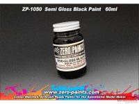 ZP1050 Semi Gloss Black paint 60 ml Paint Material