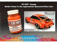 ZP1057 Jagermeister Orange paint 60 ml Paint Material