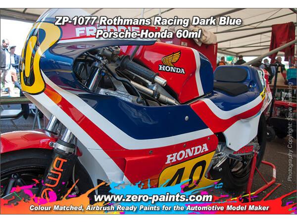 ZP1077 Rothmans Racing Dark Blue (Porsche/Honda)  paint 60 ml Paint Material