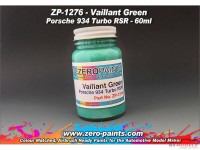ZP1276 Vailliant Green Porsche 934 Turbo RSR  paint 60 ml Paint Material