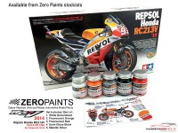 ZP1340 Repsol Honda RC213V  2014  paint set  5x30 ml Paint Material