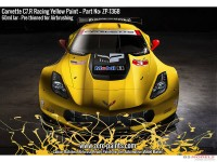 ZP1368 Corvette C7.R  Racing Yellow  paint 60 ml Paint Material