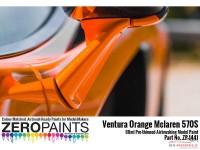 ZP1441 Mclaren 570S  Ventura orange (Pearl) paint  60 ml Paint Material