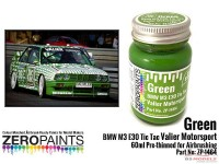 ZP1464 Green BMW M3 E30 Tic Tac Valier Motorsport  60 ml Paint Material