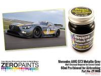 ZP1466 Mercedes AMG  GT3 Metallic Grey (matt) paint 60 ml Paint Material
